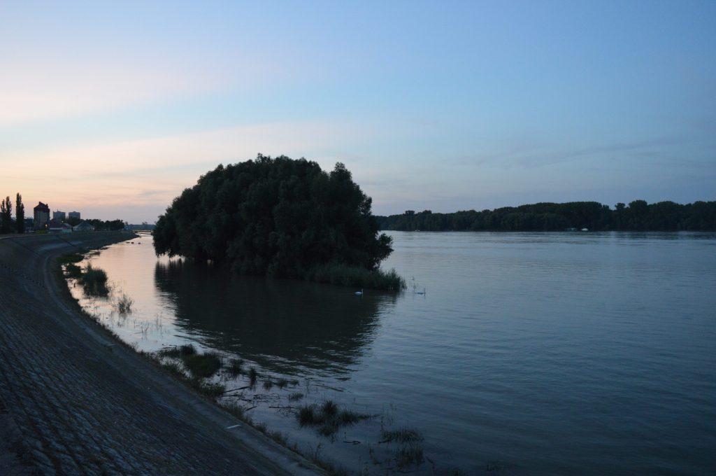 Pogled na Dunav u Vukovaru.
